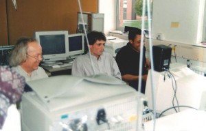 Rutherford labs - at end of the CHARISMA project. Brendan in the Centre. 1994